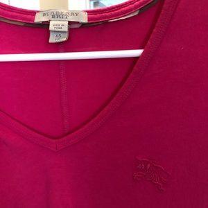 Burberry Shirt - Pink / Fuchsia